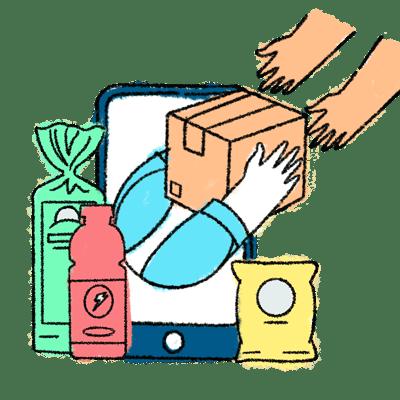 Bundles of Giving illustration